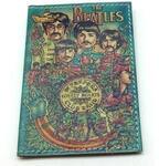 Кожаная обложка на паспорт. The Beatles