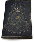 Кожаная обложка на паспорт. Дарт Вейдер - Будда