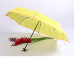 Складной зонт. Лимон