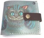 Кожаный кошелек. Чеширский кот