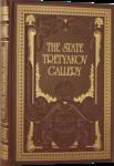 Подарочная книга в кожаном переплете. Государственная Третьяковская галерея (на английском языке)