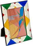 Подарочная фоторамка с цветной эмалью (под фото 10х15 см)