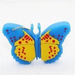 Подарочная флешка. Бабочка (цвет голубой)