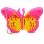 Подарочная флешка. Бабочка (цвет желтый)