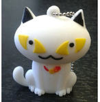 Подарочная флешка. Белый кот