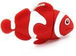 Подарочная флешка. Рыбка-клоун (цвет красный)