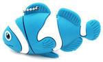 Подарочная флешка. Рыбка-клоун (цвет синий)