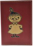 Кожаная обложка на паспорт. Девочка
