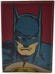 Кожаная обложка на паспорт. Супергерои. Бэтмен