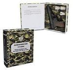 Подарочный набор (фарфоровый штоф + стаканчики). Общевоинские Уставы Вооруженных Сил РФ