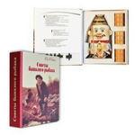 """Подарочный набор (фарфоровый штоф + стаканчики). Книга-шкатулка """"Советы бывалого рыбака"""""""