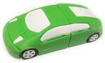 Подарочная флешка. Автомобиль (цвет зеленый)