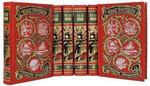 Подарочная книга в кожаном переплете. Ефремов И. Собрание сочинений в 6-ти томах