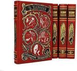Подарочная книга в кожаном переплете. Набоков В. Собрание сочинений в 4-х томах