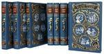 Подарочная книга в кожаном переплете. Марк Твен. Собрание сочинений в 8-ми томах