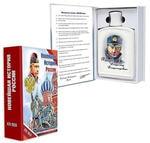 Подарочный набор с фарфоровым штофом. Новейшая история России (штоф В.В.Путин)