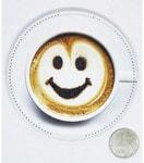 Беспроводное зарядное устройство. Чашка кофе