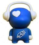 Подарочная флешка. Музыкальный человек (синий)