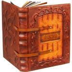 Подарочная книга в кожаном переплете. Виски. Полный всемирный путеводитель