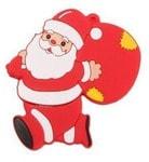 Подарочная флешка. Дед Мороз с мешком подарков