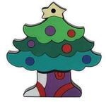 Подарочная флешка. Новогодняя елка