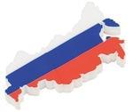 Подарочная флешка. Карта России с Крымом