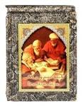 Подарочная книга в кожаном переплете. Мудрость Ислама (в футляре)