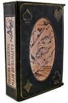 Подарочная книга в кожаном переплете. Карточные игры Российской империи (в футляре)
