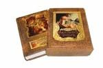 Подарочная книга в кожаном переплете. Данте А. Божественная комедия (в футляре)