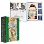 """Подарочный набор (фарфоровый штоф + стаканчики). Книга-шкатулка """"Основы бухучета и аудита"""""""