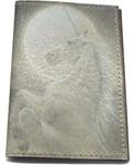 Кожаная обложка на паспорт. Единорог