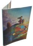 Кожаная обложка на паспорт. Робот Тоторо