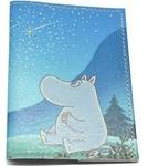Кожаная обложка на паспорт. Муми Троль и комета