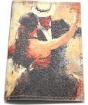 Кожаная обложка на паспорт. Танго