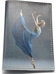 Кожаная обложка на паспорт. Танец