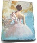 Кожаная обложка на паспорт. Балет