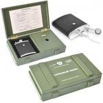 Подарочный набор с внешним аккумулятором. Зарядный ящик (11000 mah)