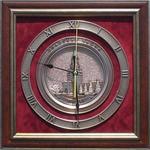 """Плакетка-часы """"Спасская башня"""""""