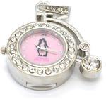 Ювелирные часы с флешкой. Старинный велосипед (цвет серебро)