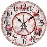 """Часы настенные """"Парижские розы"""""""