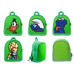Детский пиксельный рюкзак. Upixel-mini Backpack WY-A012. Цвет зеленый