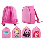 Детский пиксельный рюкзак. Upixel-mini Backpack WY-A012. Цвет розовый