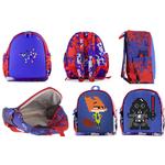 Детский пиксельный рюкзак с боковыми карманами Upixel. Dream High Kids Daysack. Цвет синий