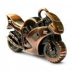 Подарочная металлическая флешка. Мотоцикл