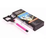 Монопод для селфи Z07-5 с бепроводной кнопкой спуска Bluetooth (цвет фиолетовый)