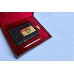 Подарочный набор «Ежедневник, ручка, флешка»