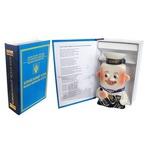 Подарочный набор с фарфоровым штофом. Корабельный Устав (фляга Моряк)