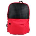 Школьный пиксельный рюкзак. Classic school pixel backpack WY-A013 (цвет красный)