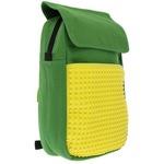Пиксельный рюкзак Canvas Top Lid pixel Backpack WY-A005 Зеленый-желтый