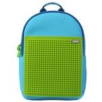 Детский пиксельный рюкзак. Rainbow Island WY-A027. Цвет Голубой-Зеленый
